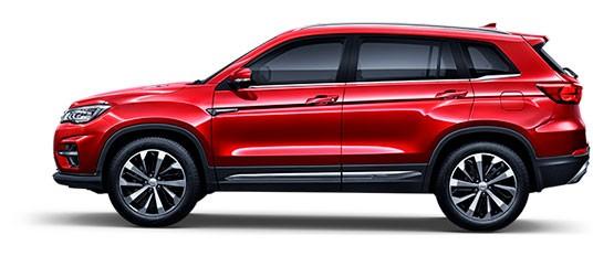 Changan CS75FL - цвет Красный