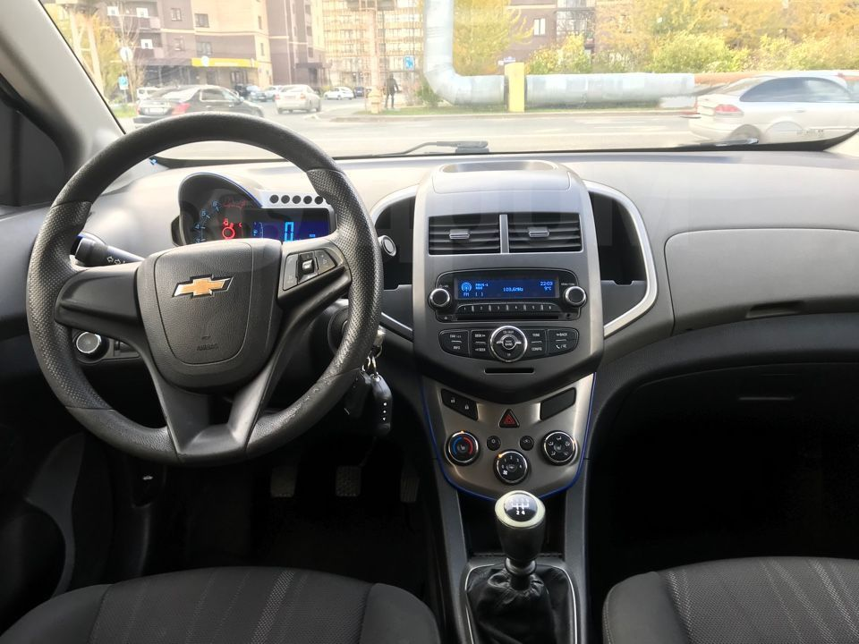 Chevrolet Aveo, 2012 год, с пробегом, купить в Тюмени
