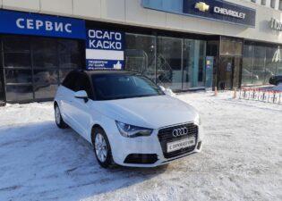Audi A1, 2014 год