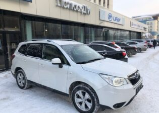 Subaru Forester, 2014 год