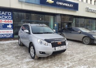 Geely Emgrand X7, 2014 год