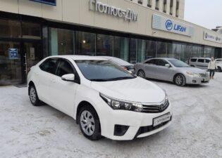 Toyota Corolla, 2014 год